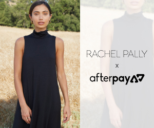 Buy Now, Pay Later with AfterPay at Rachel Pally