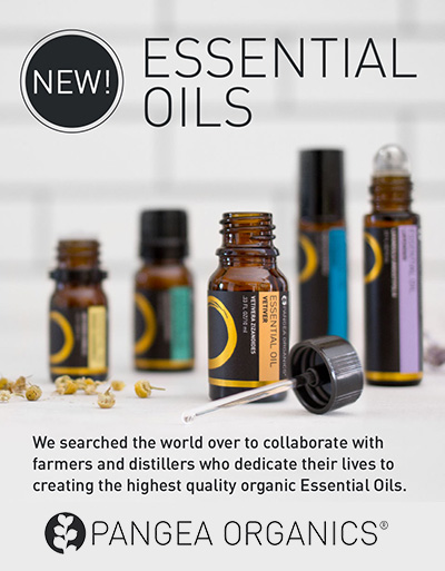 Shop the New Essential Oils at Pangea Organics!