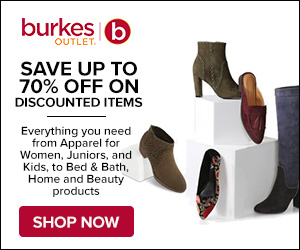 Save up to 70% Off Discounted Items at Burkes Outlet! Shop Now!