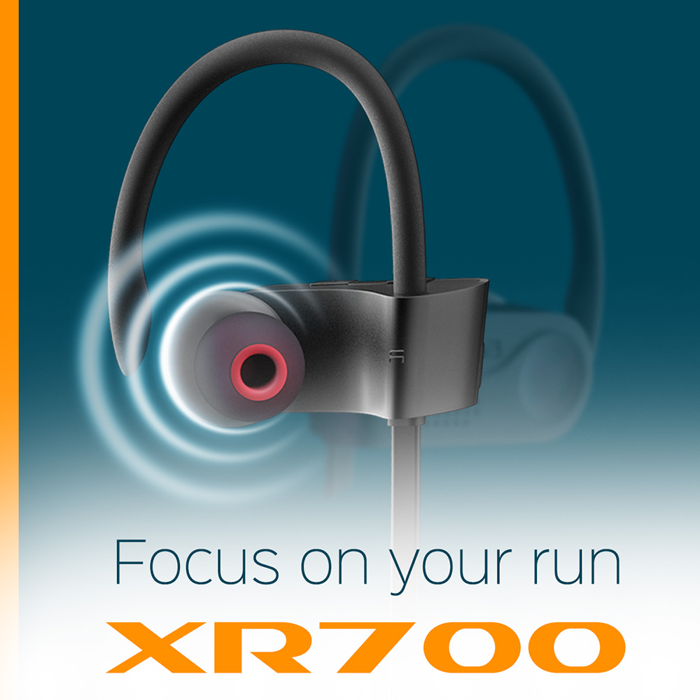 10% OFF at wireless earphones TREBLAB XR700