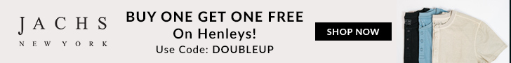 Buy 1 Get 1 Free Henleys