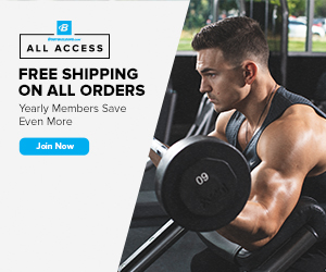 Free Shipping for Yearly All-Access Members at Bodybuilding.com!!