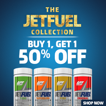 Jetfuel Buy 1 Get 1 50% Off