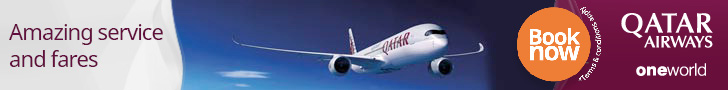 Amazing service and fares. Qatar Airways.