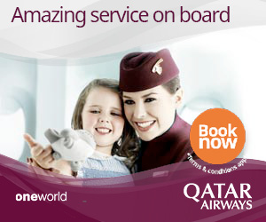 Amazing Service Onboard. Qatar Airways.