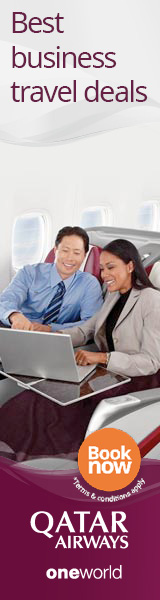 Best business travel deals on Qatar Airways.