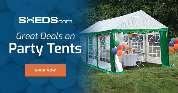 Party Tents for all your Backyard Parties