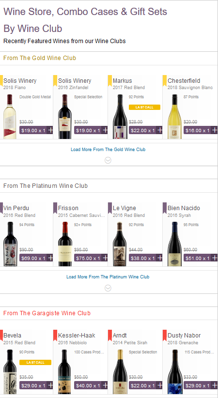 Gold Medal Wine Club Store - Free Shipping On 12+ Bottles Of Our Premium Wine!