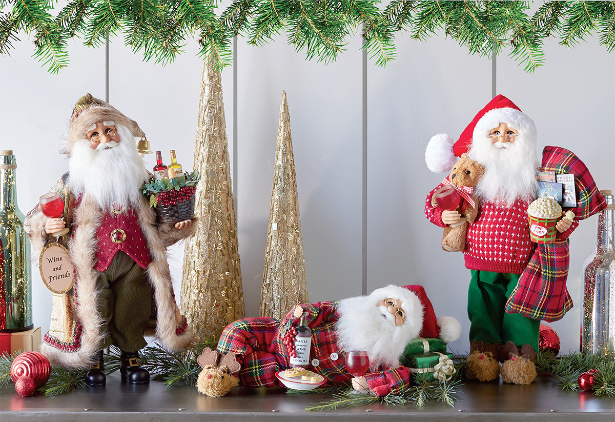 Santa Collectible Holiday Gifts