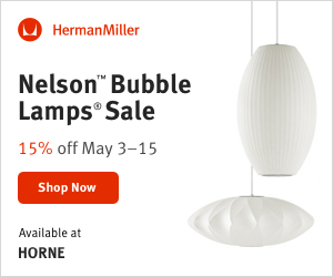 Horne Nelson Bubble Lamps Sale 15% OFF May 3rd - 15th - 300X250