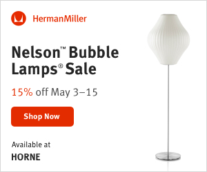 Horne Nelson Bubble Lamps Sale 15% OFF May 3rd - 15th - 300X250.