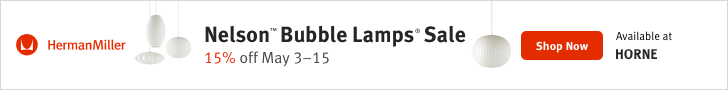 Horne Nelson Bubble Lamps Sale 15% OFF May 3rd - 15th - 728X90