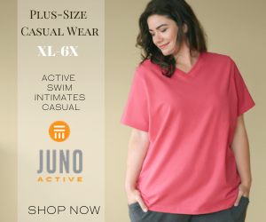 JunoActive Plus Size Women's Casual Wear