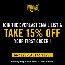 Text EVERLAST to 33233 to Join Everlast's Newsletter