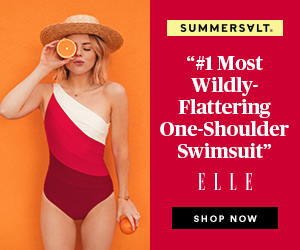 #1 Most Wildly-Flattering One-Shoulder Swimsuit