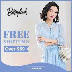 Free Shipping Over $69 At Berrylook