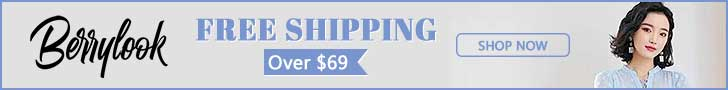 Free Shipping Over $69 At Berrylook! Buy Now!