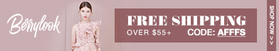 Free Shipping Over $55 At Berrylook! Buy Now!