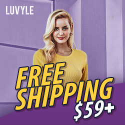 Luvyle Freeshipping On Orders $59+. Buy Now!