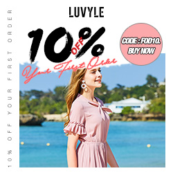 10% OFF YOUR FIRST ORDER At Luvyle.com!