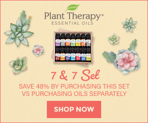 Why Buy Individual Oils When You Can Buy the Set? Save up to 48% Off When You Buy the 7&7 Essential Oil Set at Plant Therapy, Available Now!