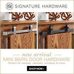 Shop Signature Hardware!