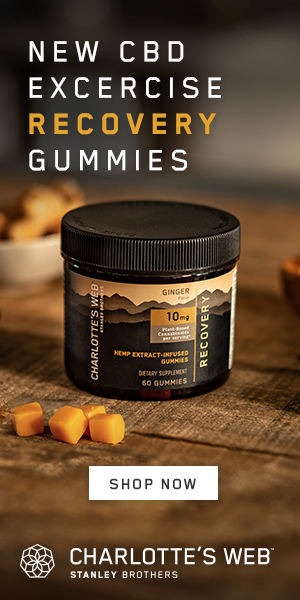 Shop Our New Recovery Gummies at Charlotte's Web!