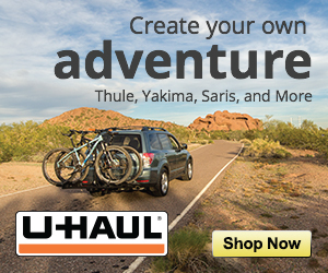 Create your own adventure. Thule, Yakima, Saris and more.