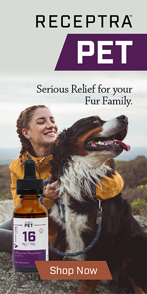 Shop Receptra CBD for Pets