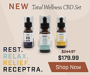 Large Total Wellness CBD Set