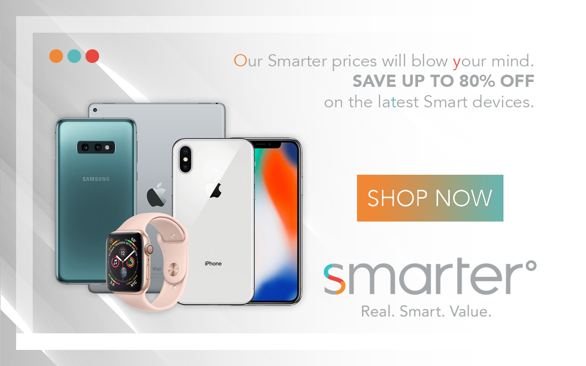 Smarter. Real. Smart. Value.