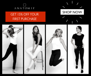 Get 10 percent off first Anatomie order