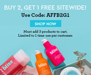 Shop Our Buy 2, Get 1 Free Sitewide! Use Code AFFB2G1 At Checkout. Limited To One Use Per Customer.