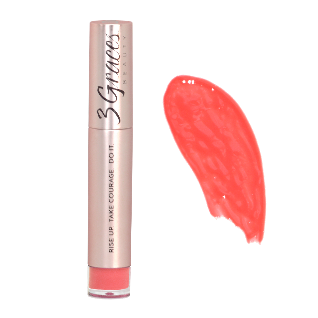 Radiant Lipgloss in Coral