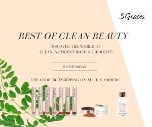 Shop Clean Beauty Banner Rectangle